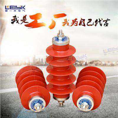 雷一 高压复合外套金属氧化锌避雷器 HY5WX-17/50