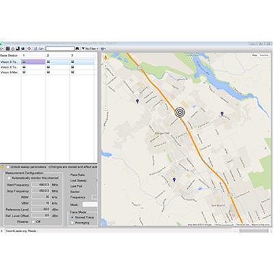 日本安立 远程频谱监控 Vision™ 软件 MX280001A