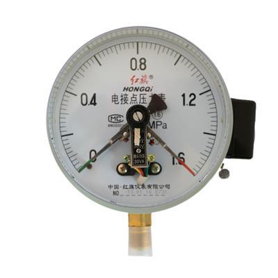 红旗仪表 电接点压力表 YX-60