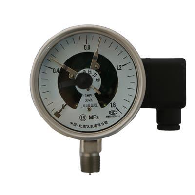 红旗仪表 不充液、充液系列特殊电接点系列压力表 YXCF YXCFN