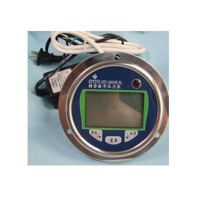 智拓 1.0%FS 数字电接点压力表 不锈钢外壳  ZHT-2000