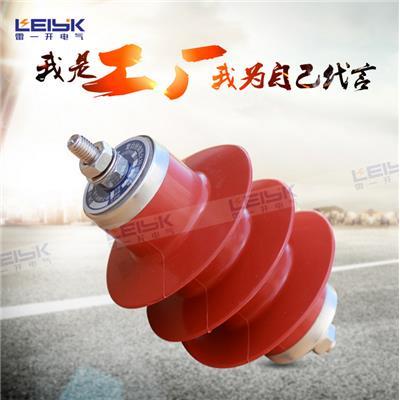雷一 高压复合外套金属氧化物避雷器 HY2.5WD-7.6/19