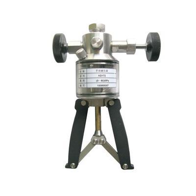 智拓 0~60Mpa 手持压力泵便携式手操泵 ZHT-6560