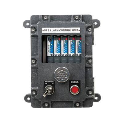 英思科 4通道阻燃型气体检测控制器 GTC-200F