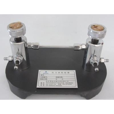 智拓 压力表真空表校验器气体压力真空-0.1Mpa -40Mp ZHT