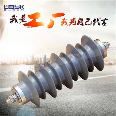 雷一 高压复合外套金属氧化物避雷器 HY5WS-26/72
