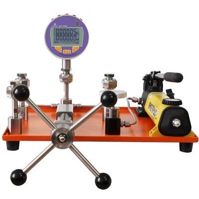 智拓 0~60 Mpa液体压力源 手动压力校验台 ZHT-6302