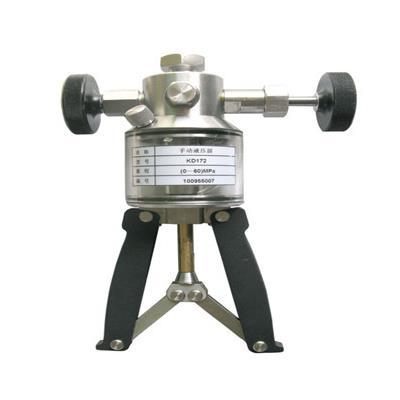 智拓 便携式高压液体压力源 手操泵 0~60MPA ZHT-6560