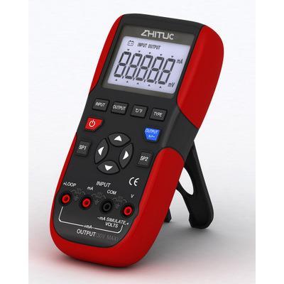 智拓 0.01% 24位A/D,高线性度 电流电压校准仪  ZHT-1040