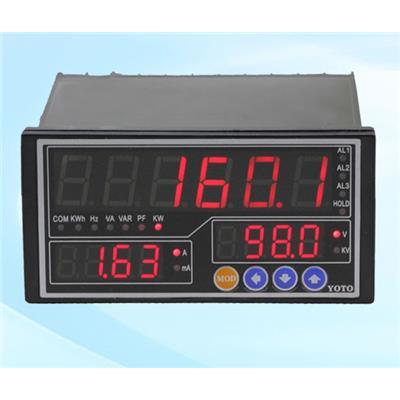 北崎 DW8系列-单相智能电参数表