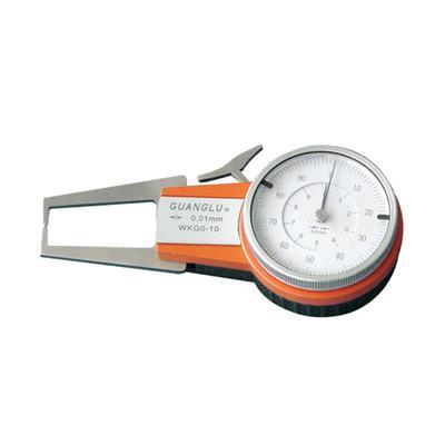 广陆量具 整体式带表外卡规 0-10mm 货号323-251