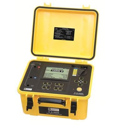 法国CA  15 kV 程式数字绝缘测试仪 CA6555