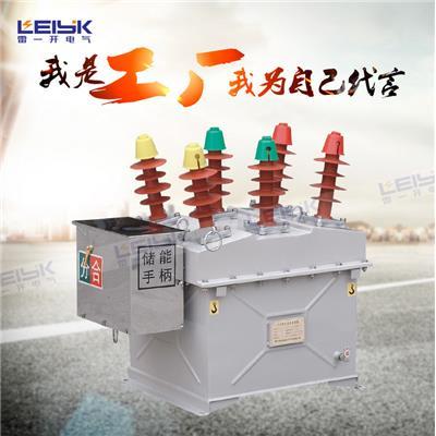雷一 户外高压真空断路器 铁壳手动 ZW8-12/1250-31.5