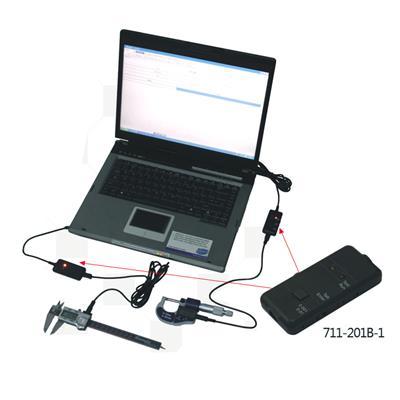 广陆量具 USB数据采集适配器(模拟键盘型) 货号711-201B-1