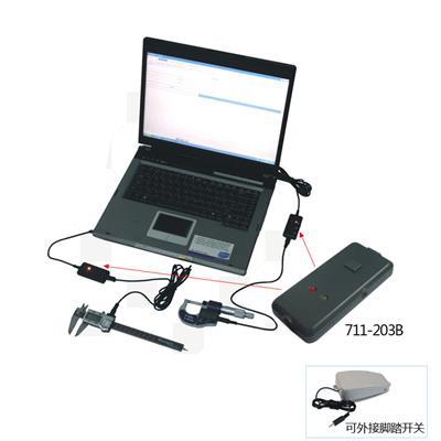 广陆量具 USB数据采集适配器(模拟串口型) 货号711-203B