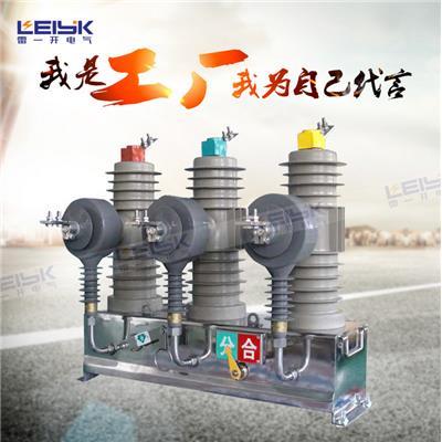 雷一 小型化户外高压真空断路器 ZW43-12/630-20