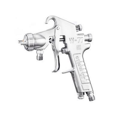 美特喷枪高雾化上壶下壶压送手动喷漆枪1.2/1.5/2.0/2.5口径W77