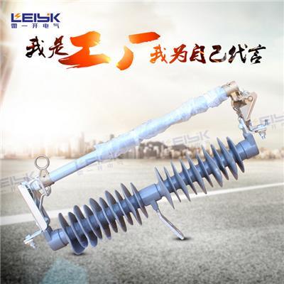 雷一 高压跌落式熔断器 硅橡胶 HRW12-15/100A