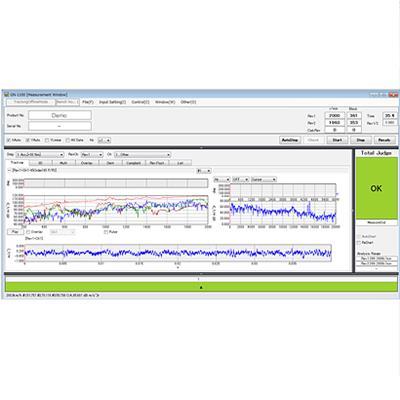 日本小野 噪声检测软件  GN-1100 系列