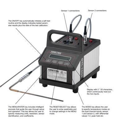 美国jofra 数字温度测试仪 DTI1000