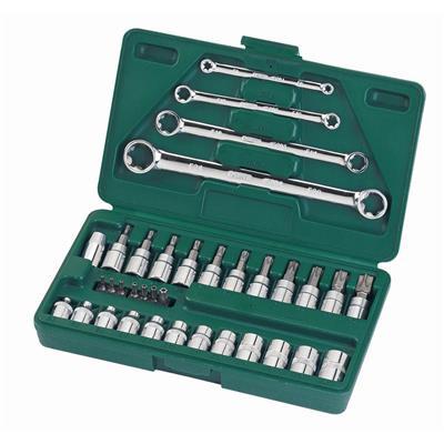世达工具SATA35件6.3x10MM系列综合花形工具组套09010