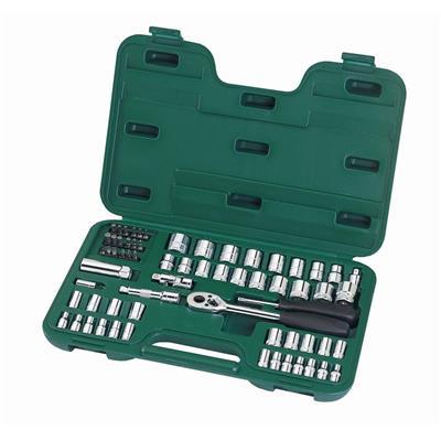 世达工具SATA65件6.3x10MM系列公英制套筒组套09011