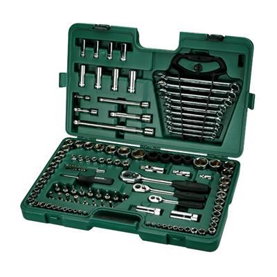 世达工具SATA120件6.3x10x12.5MM系列公英制综合组套09014