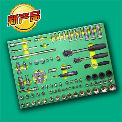 世达工具SATA157件汽修开店工具托组套09919