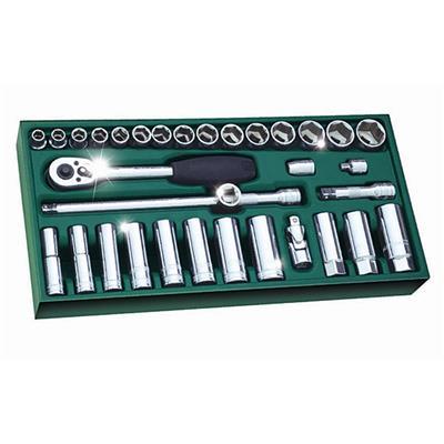 世达工具SATA工具托组套-33件10MM系列套筒09902