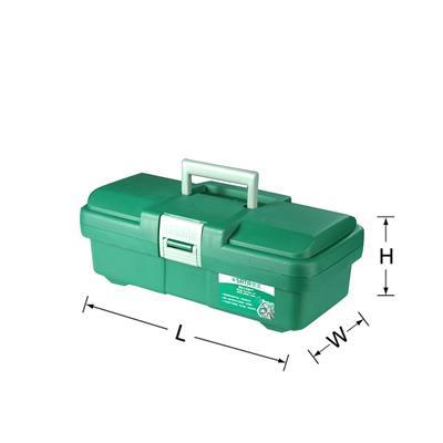 """世达工具SATA塑料工具箱15""""95161"""