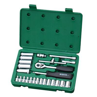 世达工具SATA25件6.3MM系列套筒组套09001