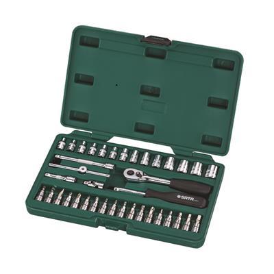 世达工具SATA38件6.3MM系列套筒组套09002