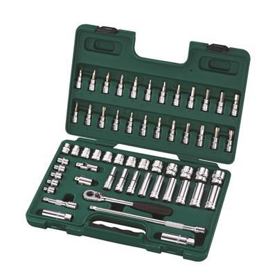 世达工具SATA58件10MM系列套筒组套09004