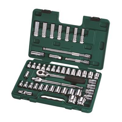 世达工具SATA46件12.5MM系列公英制套筒组套09006