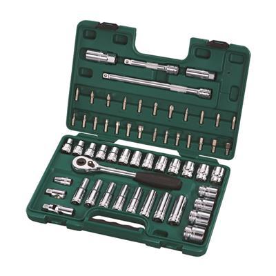 世达工具SATA58件12.5MM系列套筒组套09007