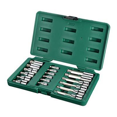 世达工具SATA18件6.3x12.5MM系列旋具套筒组套09051