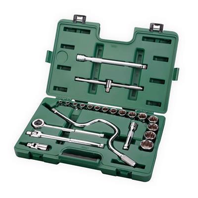 世达工具SATA22件12.5MM系列英制套筒组套09088
