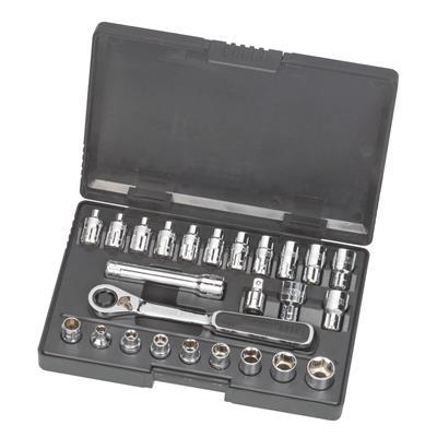 世达工具SATA25件13MM系列穿透式套筒组套09131