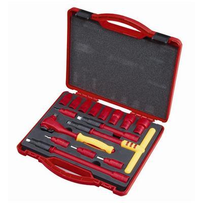 世达工具SATA16件10MM系列VDE绝缘套筒组套09268