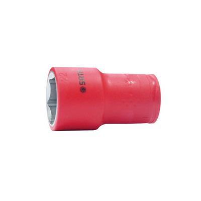 世达工具SATA10mm系列注塑型VDE绝缘套筒17mm12517