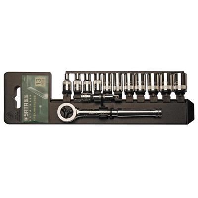 世达工具SATA13件6.3MM系列套筒组套09521
