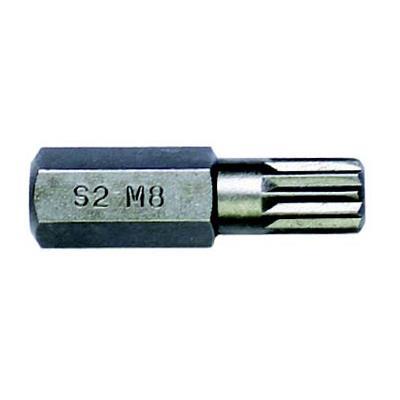 史丹利 8MM系列30mm长12角旋具头 STANLEY