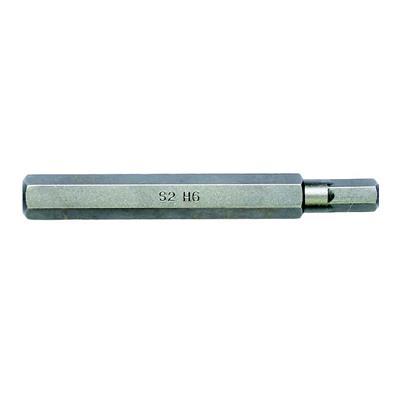 史丹利 8MM系列70mm长6角旋具头 STANLEY