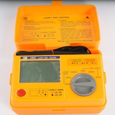 台湾泰仕TES回路阻抗/预期短路电流测试仪TES-1800A