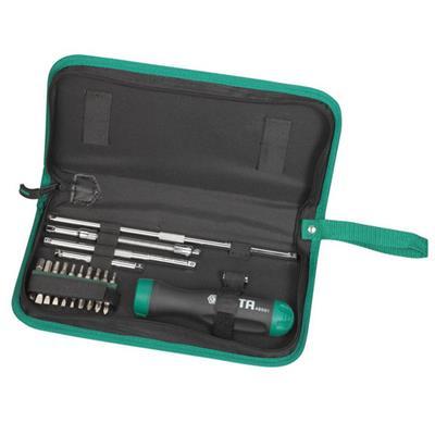世达工具SATA26件棘轮螺丝批组套09343