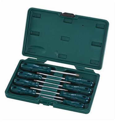 世达工具SATA8件A系列花形螺丝批组套09305