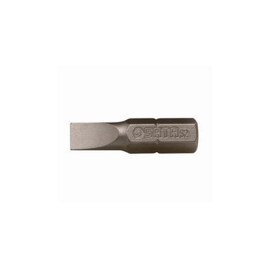 世达工具SATA5件套6.3MM系列25MM长一字旋具头4MM59213