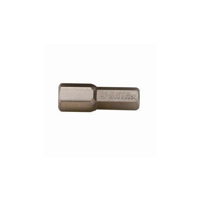 世达工具SATA5件套6.3MM系列25MM长六角旋具头4MM59254