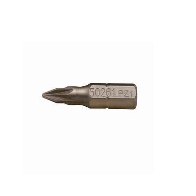 世达工具SATA5件套6.3MM系列25MM长米字旋具头PZ#159261