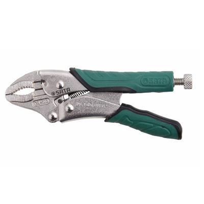 世达工具SATA圆口带刃快速释放大力钳5